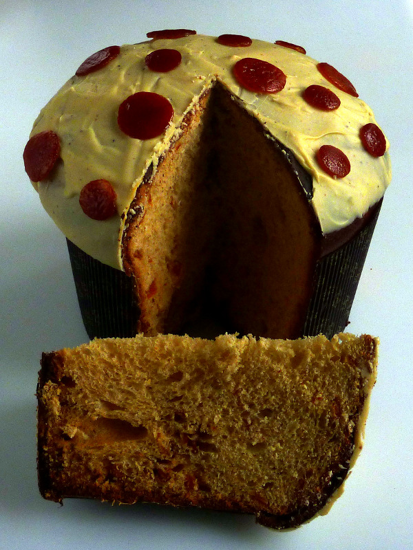 Pationkin - panettone fave di Tonka, clementine
