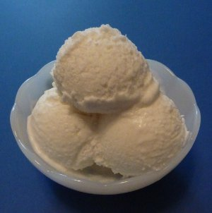 Gelato al cocco