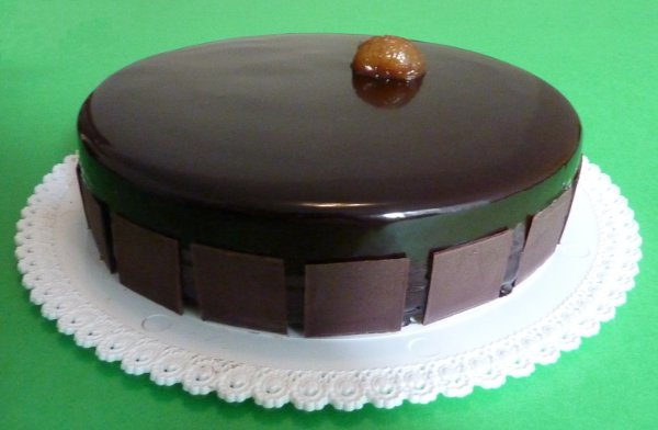 Torta cioccolato marron glac armagnac
